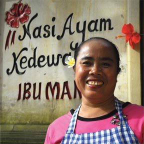 The Warung Owner - Ibu Mangku