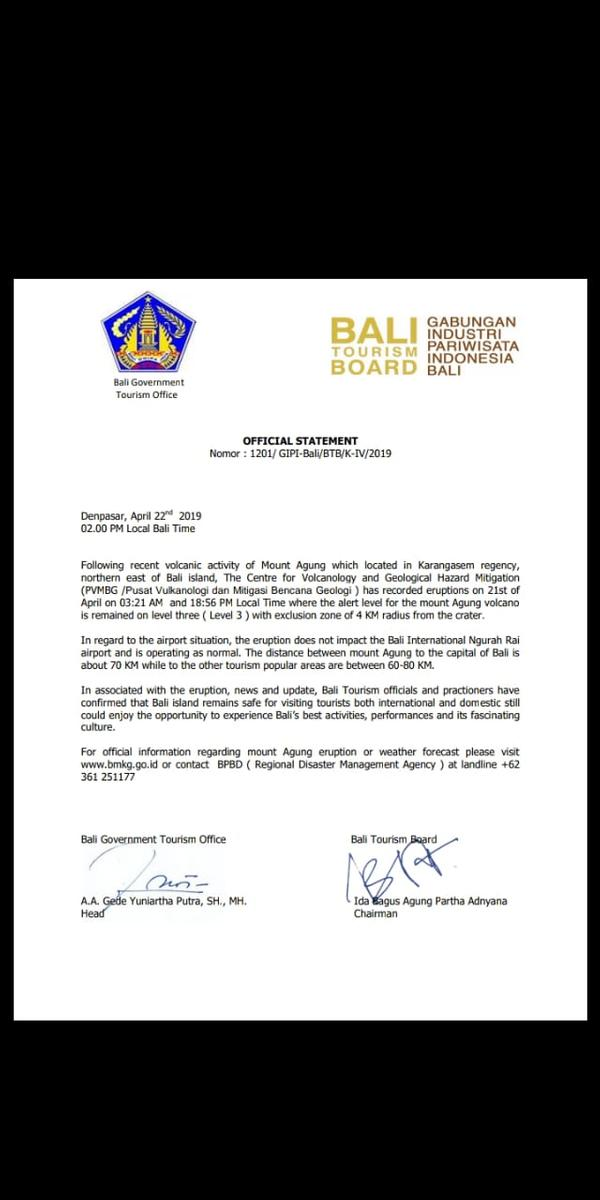 Bali Hotels Association - Latest News